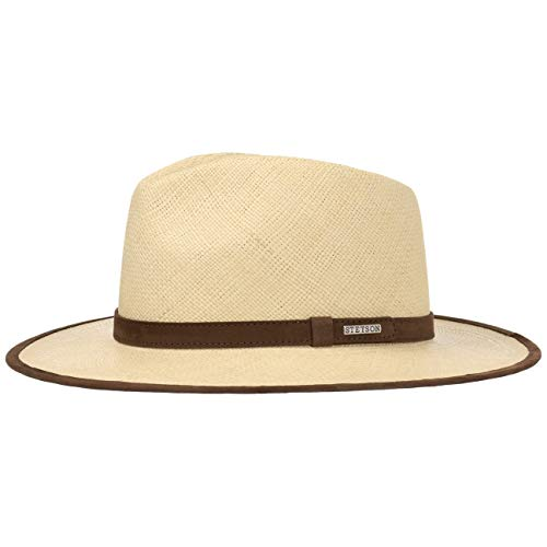 Stetson Sombrero Panama Braid Hombre - Made in Ecuador de Panamá Playa...