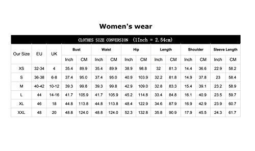 YOINS YOINS Damen Kleider Tshirt Kleid Sommerkleid für Damen Rundhals Brautkleid Langarm Minikleid Kleid Langes Shirt Lose Tunika mit Bowknot Ärmeln