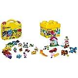 Lego 10713 Classic Maletín Creativo, Divertidos Ladrillos de Colores Vivos + LEGO Classic - Ladrillos Creativos, Imaginativo Juguete de Construcción con Bricks de Colores