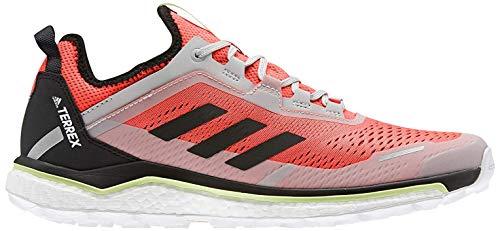 adidas Terrex Agravic Flow, Zapatillas Deportivas Hombre, Solar Red/Core Black/Grey Two F17, 44 EU