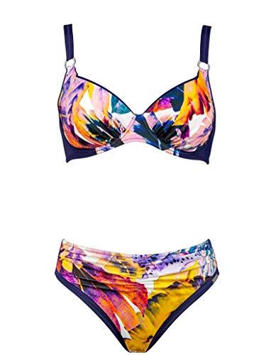 Charmline Bikini-Set Tropical Escape Style 2100 des. 855 (Paradise-Pastels, 48D)