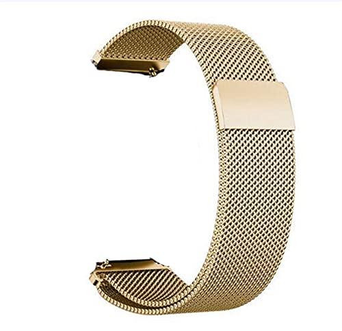 ZXF Correa Reloj, General Lanzamiento rápido Correa de Reloj Cierre magnético Cierre de Acero Inoxidable Reloj de reemplazo de la Banda 14mm 16mm 18mm 20mm 22mm 24mm 23mm Pulsera