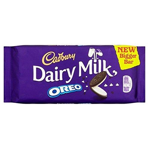 Cadbury Lait De Vache avec Oreo 185G - Paquet de 2