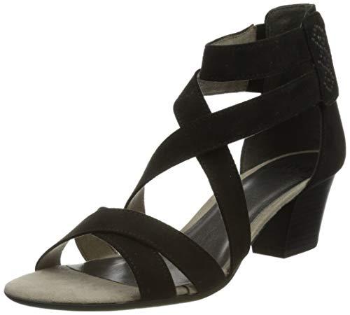 Jana Softline Damen 8-8-28365-26 001 Sandale mit Absatz, Schwarz, 40 EU