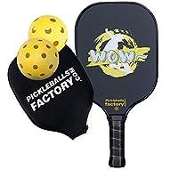 Pickleball Paddles, Pickleball Set, Pickleball Balls, Pickleball Paddle, Pickle Ball Game Set, Pickleball, WOW SKI Pickleballs, Pickle Ball Racquets, pickleball net set