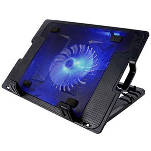 Almohadilla de enfriamiento for computadora portátil, 2 puertos con alimentación por USB Juego silencioso Almohadilla de enfriamiento for computadora portátil y computadora portátil Juego con ventilad