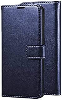 Erotic Flip Wallet Case Cover for Vivo S1 - Attractive Navy Blue
