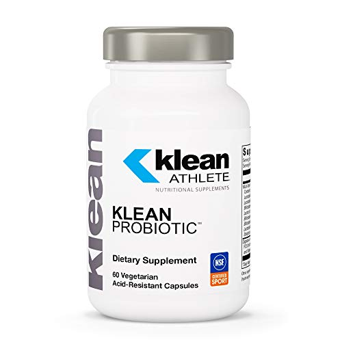 Klean Athlete - Klean Probiotic - Supports Immune System and Overall Health of The Digestive System - NSF Certified for Sport - 60 Vegetarian Acid-Resistant Capsules