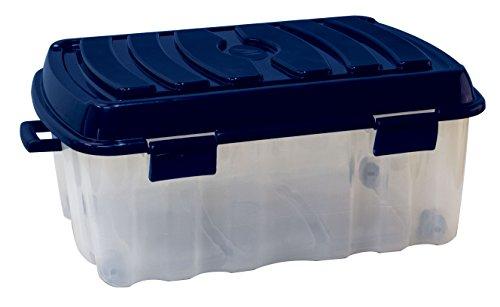 Mondex XXL Profi Rollenbox 90 Liter mit Deckel #PLS535V - Qualität Made in Europe