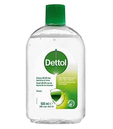 Dettol - Gel Hydroalcoolique Mains - 500 ml
