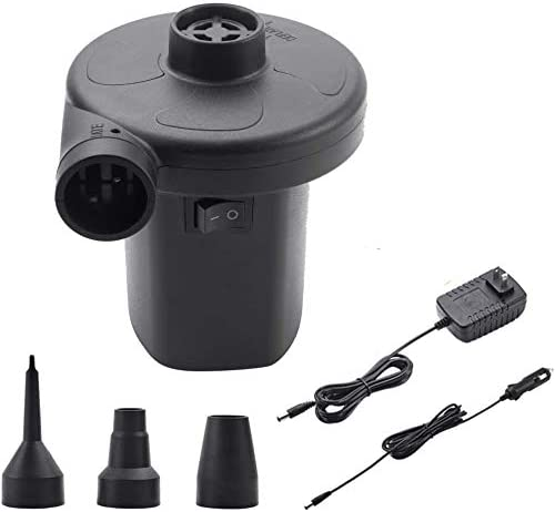 Details about  /USB Rechargeable Cordless Electric Air Pump inflatables Deflator Bed Mattress