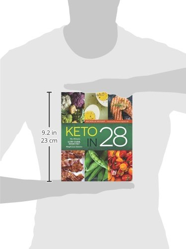 Keto in 28: The Ultimate Low-Carb, High-Fat Weight-Loss Solution 8