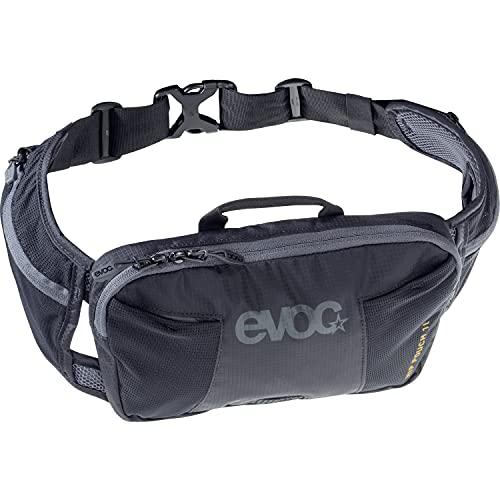 evoc HIP Pouch 1l Hüfttasche, Schwarz, one Size