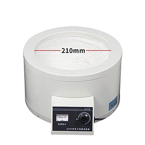 Fayelong 100ml-20000ml Elektrisch Heizmantel Temperatur Einstellbar Max. 380 Grad Celsius 100-2500W 220V Für Rundkolben (3000ml)