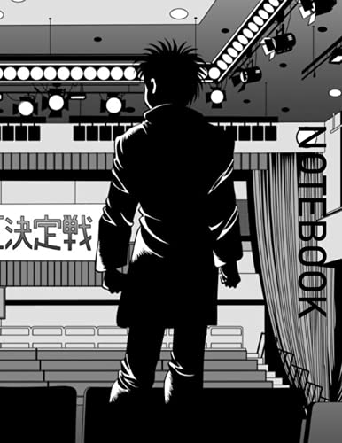 NOTEBOOK: Hajime No Ippo the Fighting! Rising: Japanese Anime Notebook, Otakus Gifts (8.5' X 11' 110 Pages) With Blank Paper for Drawing, Writing, ... for Manga Boys, Girls, Teens, Teen Artists.