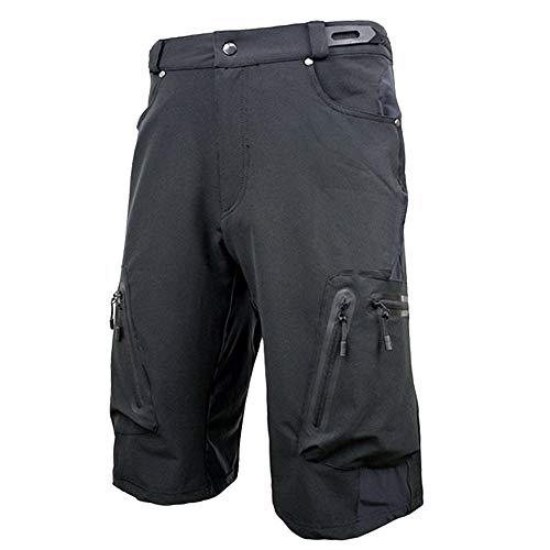 Yangxuelian Shorts de Sport Cuissard de vélo de vélo de Montagne pour Hommes pour Short de...