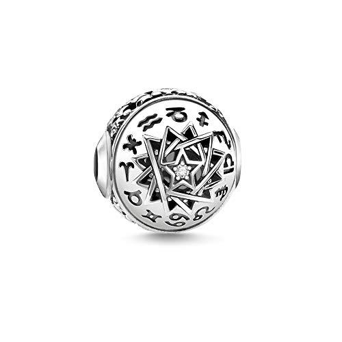 Thomas Sabo dames-kraal sterrenbeeld 925 sterling zilver zwart K0321-643-14