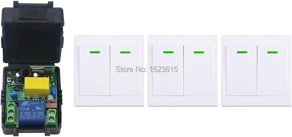 shipfree San Jose Mall New Digital Remote Control Switch Transmi Wall Receiver+3 AC220V