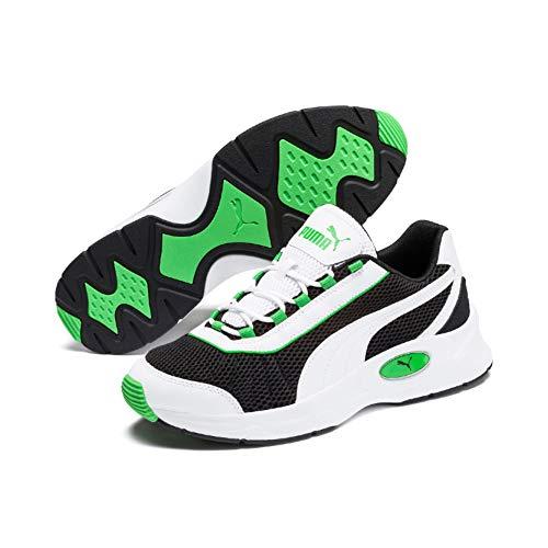 Puma Nucleus Sneaker Unisex-Erwachsene, Mehrfarbig (Puma Black-Classic Green), 43 EU