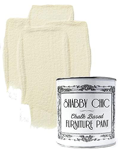 Colorante per mobili in stile shabby chic, colore: bianco anticato, 1 litro