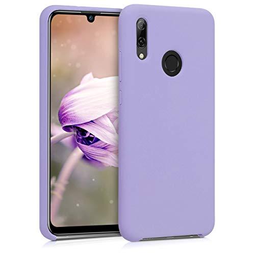 kwmobile Cover Compatibile con Huawei P Smart (2019) - Cover Custodia in Silicone TPU - Back Case Protezione Cellulare Lavanda