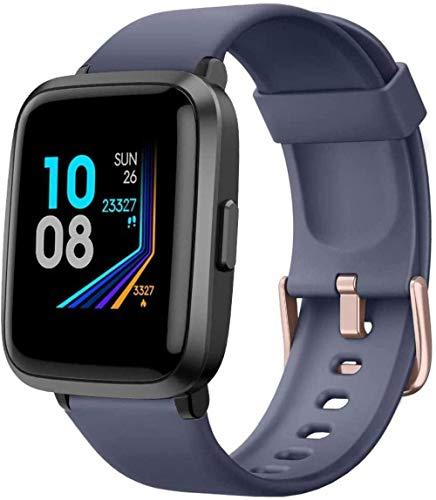Reloj inteligente para hombres y mujeres Fitness Tracker Monitor de presión arterial Medidor de oxígeno en sangre Monitor de frecuencia cardíaca IP68 impermeable Smartwatch