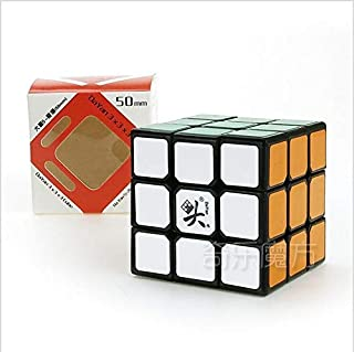 DaYan ZhanChi 3x3x3 50mm Magic Cube Speed Competition Puzzle Cube for Children Adults Color Black