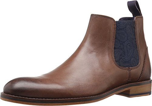 Ted Baker Men's Camroon 4 Chelsea Boot, Brown, 14 M US