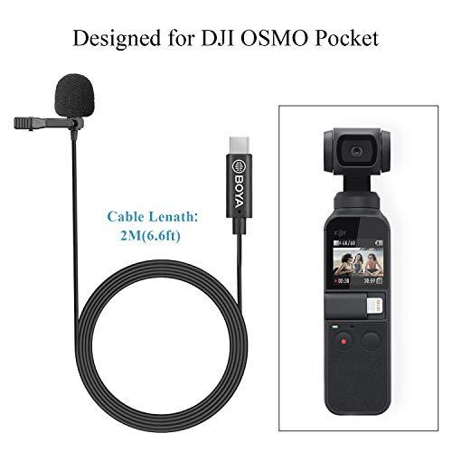 Boya Digitales Omnidirektionales Lavalier-Mikrofon für DJI Osmo Pocket