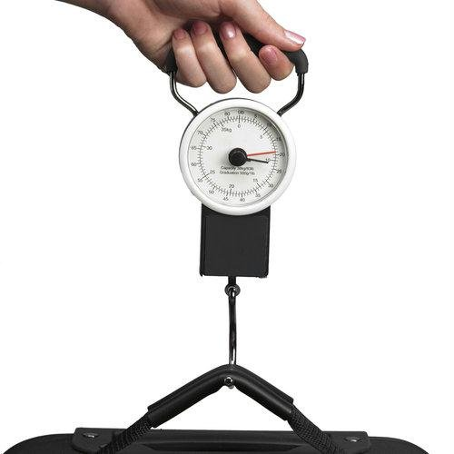 American Tourister 80lbs Luggage Scale with Built-in Tape Measure