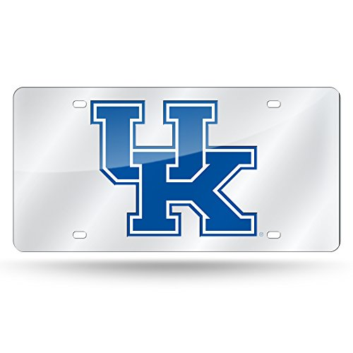NCAA Rico Industries Laser Inlaid Metal License Plate Tag, Kentucky Wildcats