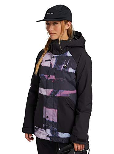 Burton Womens Eastfall Jacket, True Black/Desert Dream, Medium