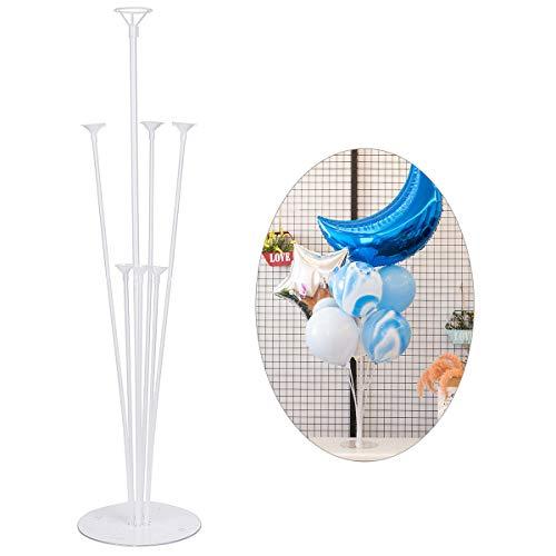 Dokpav Balloon Stand Kit, 4 Sets Ballon Stick Halter, Luftballons ständer, Halter Ballonhalter, Ballonzubehör, Party Dekoration Zubehör für Hochzeit, Geburtstag, Gartenparty und Feier des großen