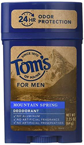 Tom's Of Maine Long Lasting Men's Deodorant Stick Mountain Spring, 2.25 oz