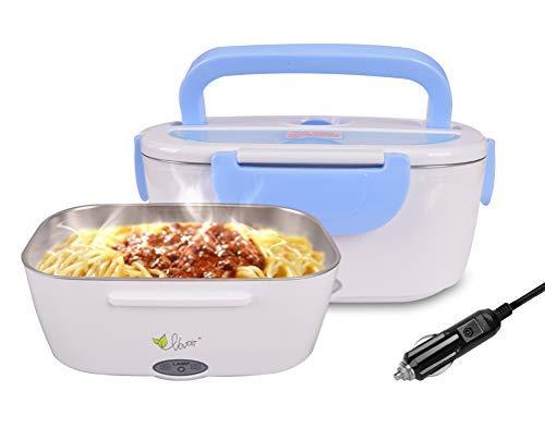 VOVOIR Boîte Chauffante Lunch Box Électrique à...
