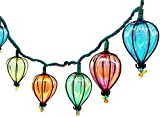 11FT String Lights with 10 Color Bulbs UL Listed Backyard Patio Lights Hanging Indoor/Outdoor for Tents Patio Garden Gazebo Market Cafe Party Decor