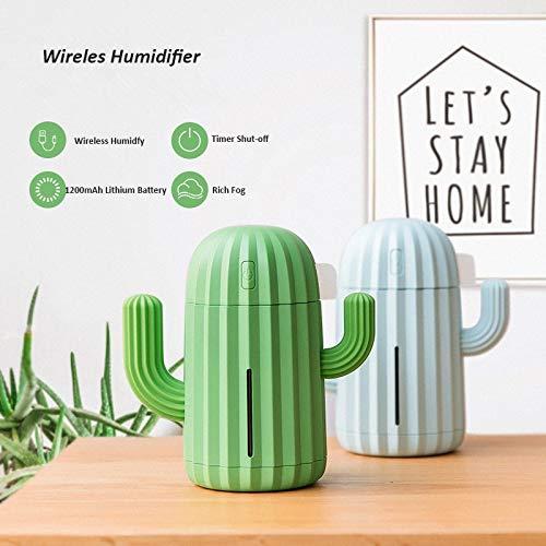 XXYYKK Humidificador De Aire Cactus Difusor De Aceite...