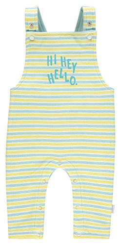 Noppies Unisex Baby U Dungeree Philadelphia STR Latzhose, Mehrfarbig (Canary Yellow P001), 68