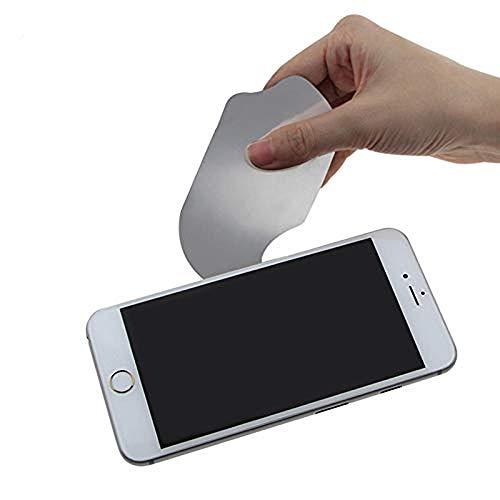 SGerste 0,1 mm Ultra Mince Flexible en Acier Inoxydable téléphone Pry Spudger démonter Carte Outil d'ouverture téléphone Portable Outil de réparation pour iPhone iPad pour Samsung