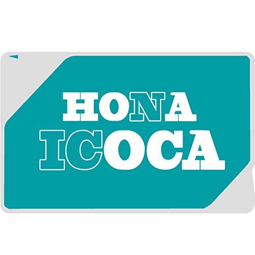 爆笑目隠しシールシリーズ 「HONA ICOCAシール」 おもしろ 雑貨 ネタ 目立ちアイテム Suica ICカードステッカー 定期券 個人情報保護 シール ステッカー