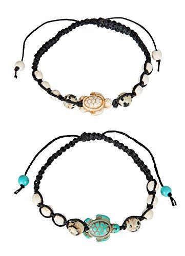SPUNKYsoul Turtle Bracelet Set Adjustable...