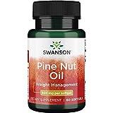 Swanson Pine Nut Oil 500 Milligrams 60 Sgels