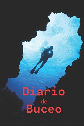 Diario de Buceo: Cuaderno de inmersión | Cuaderno de buceo a rellenar para buceadores | 100 Paginas.