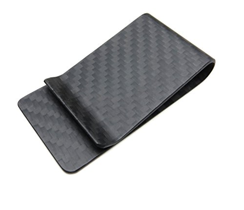 Carbon Fiber Money Clip - Black Matte