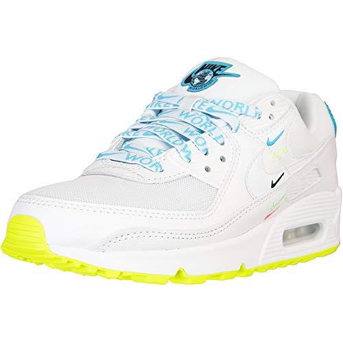 Nike Air Max 90 - Zapatillas para mujer, color Blanco, talla 38 EU