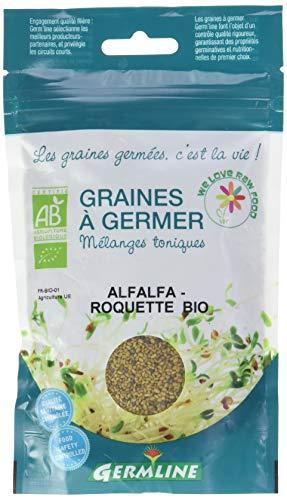 Germ'Line Graines Alfalfa Roquette à Germer 150 g BIO