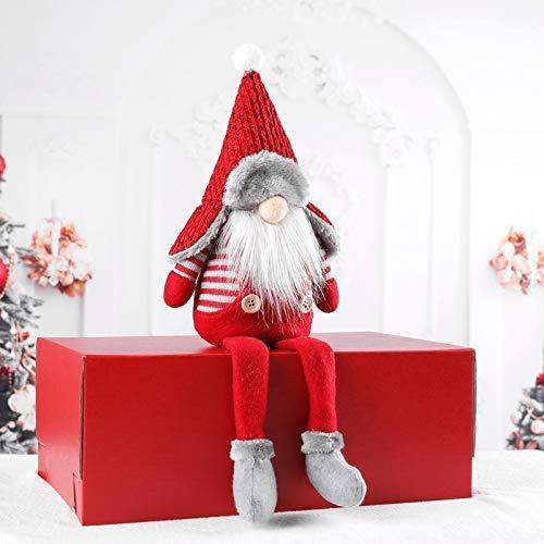 41cm Plush Santa Cloth Doll Ornament
