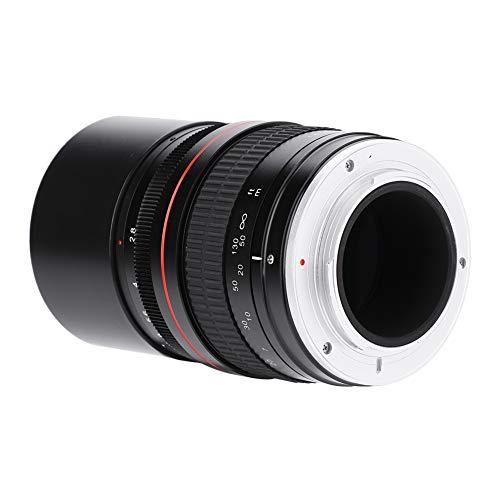 DAUERHAFT Manuelles DSLR-Teleobjektiv mit festem Lichtfluss 135 mm, für DSLR(Nikon F Port)