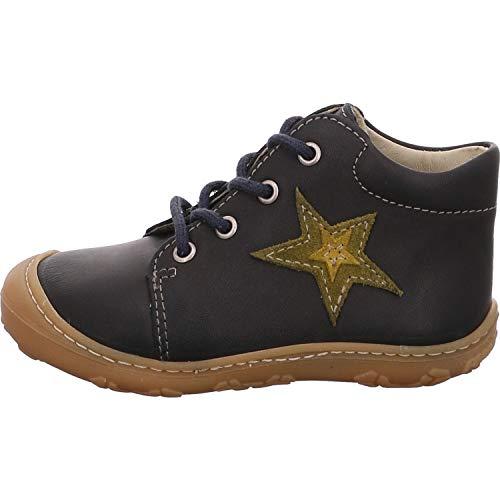 RICOSTA Unisex - Kinder Lauflern Schuhe Romy von Pepino, Weite: Mittel (WMS), toben Spielen detailreich Freizeit leger,See,22 EU / 5.5 Child UK