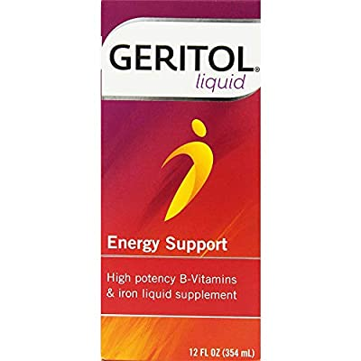 Geritol High Potency Vitamin & Iron Supplement, With Ferrex Tonic, 12 Fl Oz from Meda Consumer Healthcare, Inc.